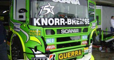 Truck: Roberval Andrade tem segunda posição provisória na classificação