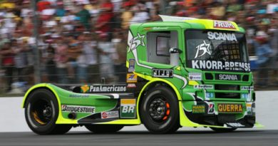 Truck: Andrade se mantém na vice-liderança