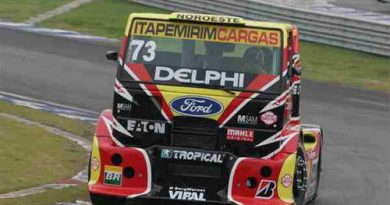 Truck: Totti foi o segundo na Fórmula Truck de Goiânia