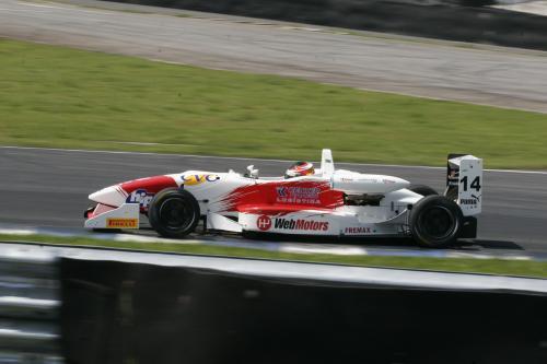 F3 Sulamericana: Novato Felipe Ferreira larga da segunda posição no domingo