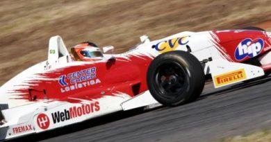 F3 Sulamericana: Felipe Ferreira larga da quinta fila
