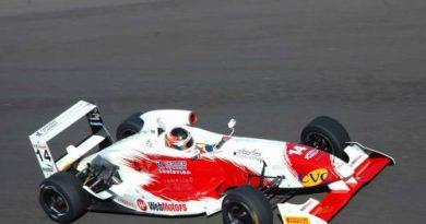 F3 Sulamericana: Felipe Ferreira animado com os primeiros treinos