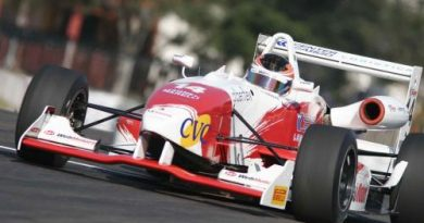 F3 Sulamericana: Felipe Ferreira é o mais rápido no primeiro treino em Londrina
