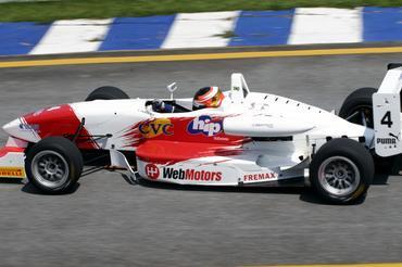 F3 Sulamericana: Felipe Ferreira foi o mais rápido enquanto esteve na pista de Interlagos