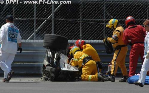 F1: Kubica deixa hospital e diz querer correr nos EUA