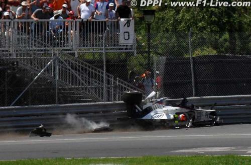 F1: Segurança salvou a vida de Kubica, diz dirigente
