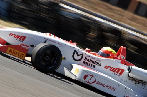 F3 Sulamericana: Clemente Júnior parte da primeira fila