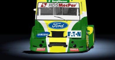 Truck: Djalma Fogaça em seus últimos preparativos rumo a Cascavel
