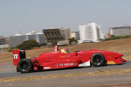 F3 Sulamericana: Em Brasília, Douglas Hiar enfrentou o final de semana mais difícil na categoria