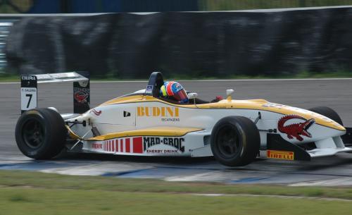 F3 Sulamericana: Fernando Galera marca o melhor tempo no 2º Treino Oficial