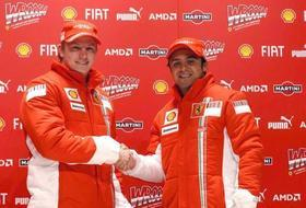 F1: Pilotos da Ferrari terão tratamento igual, diz diretor