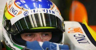 F1: Fisichella diz que Renault evoluiu em último teste