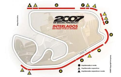 F1: Representante da FIA vem ao Brasil para verificação de obras em Interlagos