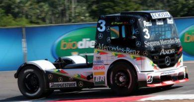 Truck: Piquet aproveita 1º treino para conhecer o caminhão