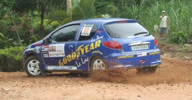 Rally: Copa Peugeot começa patrocínio Goodyear