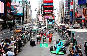 Indy 500: Pilotos param Nova York