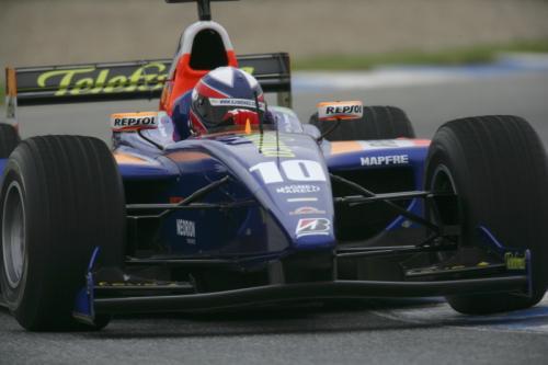 GP2 Series: Apesar de resultado ruim, Jimenez agrada equipe