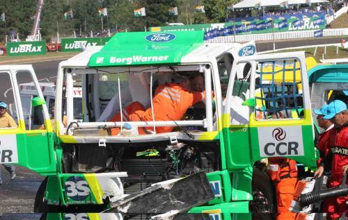 Truck: Veja vídeo do acidente que aconteceu na última corrida em Tarumã