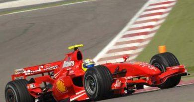F1: Massa é o melhor no segundo dia no Bahrein