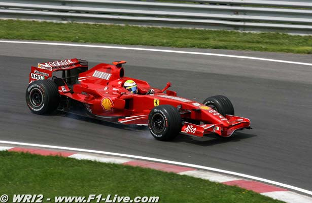 F1: 'Não vi a luz vermelha', afirma Felipe Massa