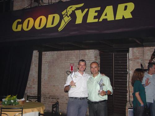 Rally: Reinaldo Varela recebe troféu em duas categorias no Prêmio Goodyear