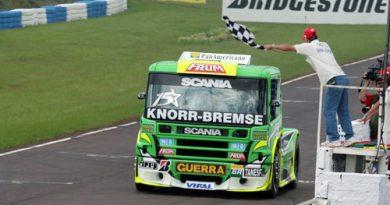 Truck: Roberval quer assumir a liderança do campeonato com boa margem para segundo colocado