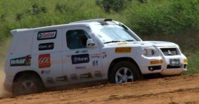 Rally: Antonio Sampaio e Marcos Basílio partem para mais uma lição no Mitsubishi Cup