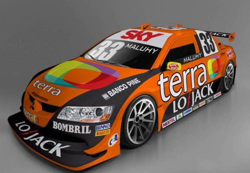 Stock: Carros da Copa Nextel Stock Car começam a receber suas pinturas