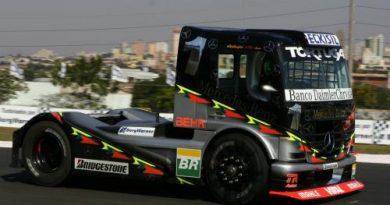 Truck: Cirino domina treinos em Cascavel