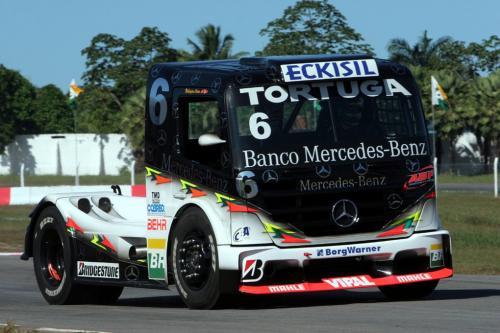 Truck: Cirino faz terceiro tempo no primeiro treino em Fortaleza