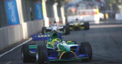A1GP: Bruno Junqueira volta ao carro do Team Brasil nas ruas de Durban