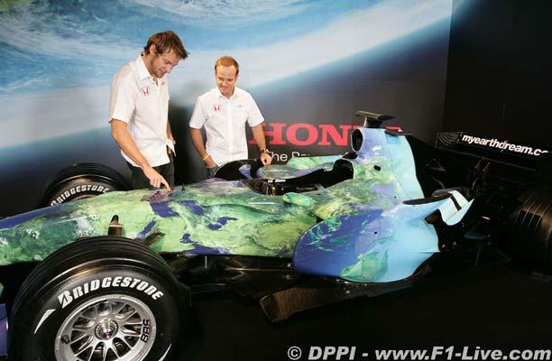F1: Button está animado com Ross Brawn na Honda