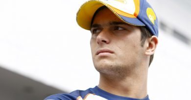 F1: Nelsinho Piquet testa com pneus slick em Jerez