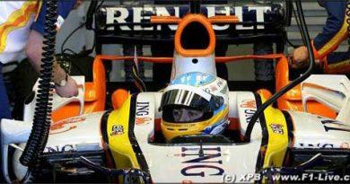 F1: Após atraso, Alonso estréia a nova Renault na Espanha