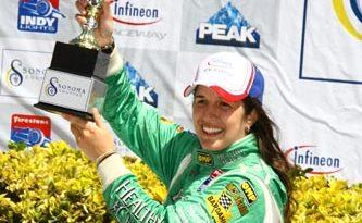 Indy Lights: Bia recebe o prêmio Estrela em Ascensão na Indy Lights