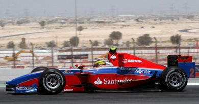"""GP2 Asiática: Bruno Senna perde """"corrida ganha"""" em Dubai"""