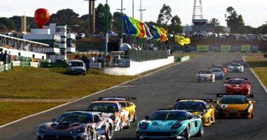 GT3 Brasil: Dupla Burti/Elias Jr. larga da sexta fila neste domingo, em Brasília