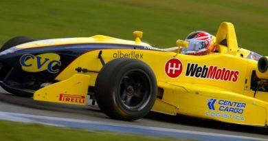 F3 Sulamericana: Felipe Ferreira abandona no começo da corrida no Rio de Janeiro
