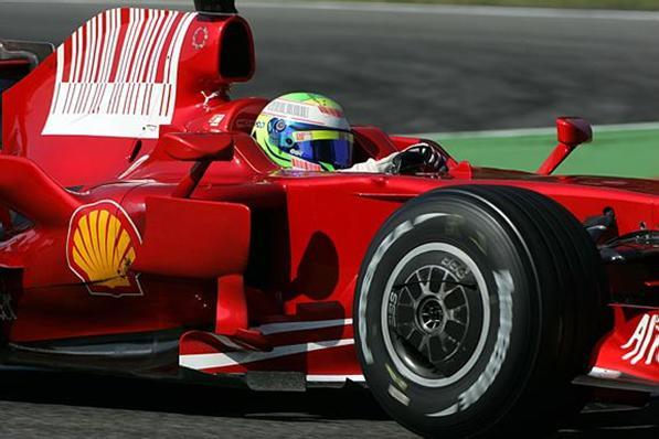 F1: Massa é o mais rápido nos testes em Monza