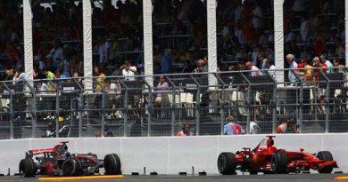 F1: Raikkonen suspeita de batida de Hamilton
