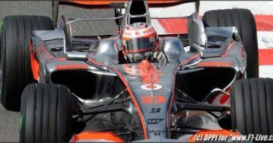 F1: Kovalainen é o melhor do dia; Nelsinho supera Massa