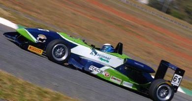 F3 Sulamericana: Otero marca mais uma pole position no Rio de Janeiro