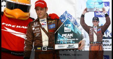 IndyCar: Marco Andretti é o pole-postion em Milwaukee
