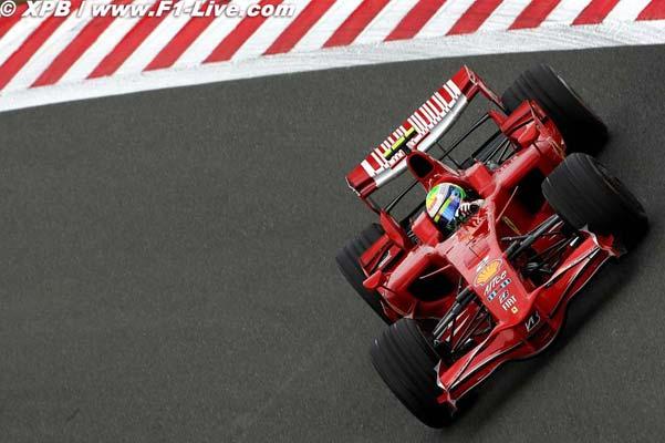 F1: Com folga, Massa é mais rápido no 1º treino livre