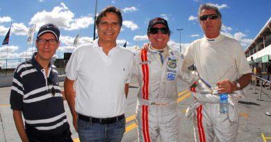 GT3 Brasil: Piquet visita o autódromo e dá dicas aos Fittipaldi, mas não estréia