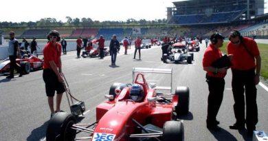 F3 Alemã: Rafael Suzuki enfrenta acidente e ainda termina em décimo na Alemanha