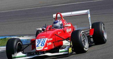Fórmula 3 Alemã: Congestionamento nos boxes tira primeira vitória de Rafael Suzuki na Europa