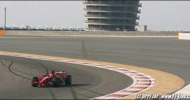 F1: Raikkonen supera Massa com novo recorde no Bahrein