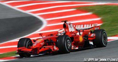 F1: Räikkönen domina sessões e é o mais veloz do dia na Espanha