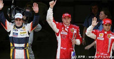 F1: Kimi Räikkönen marca a pole em Barcelona